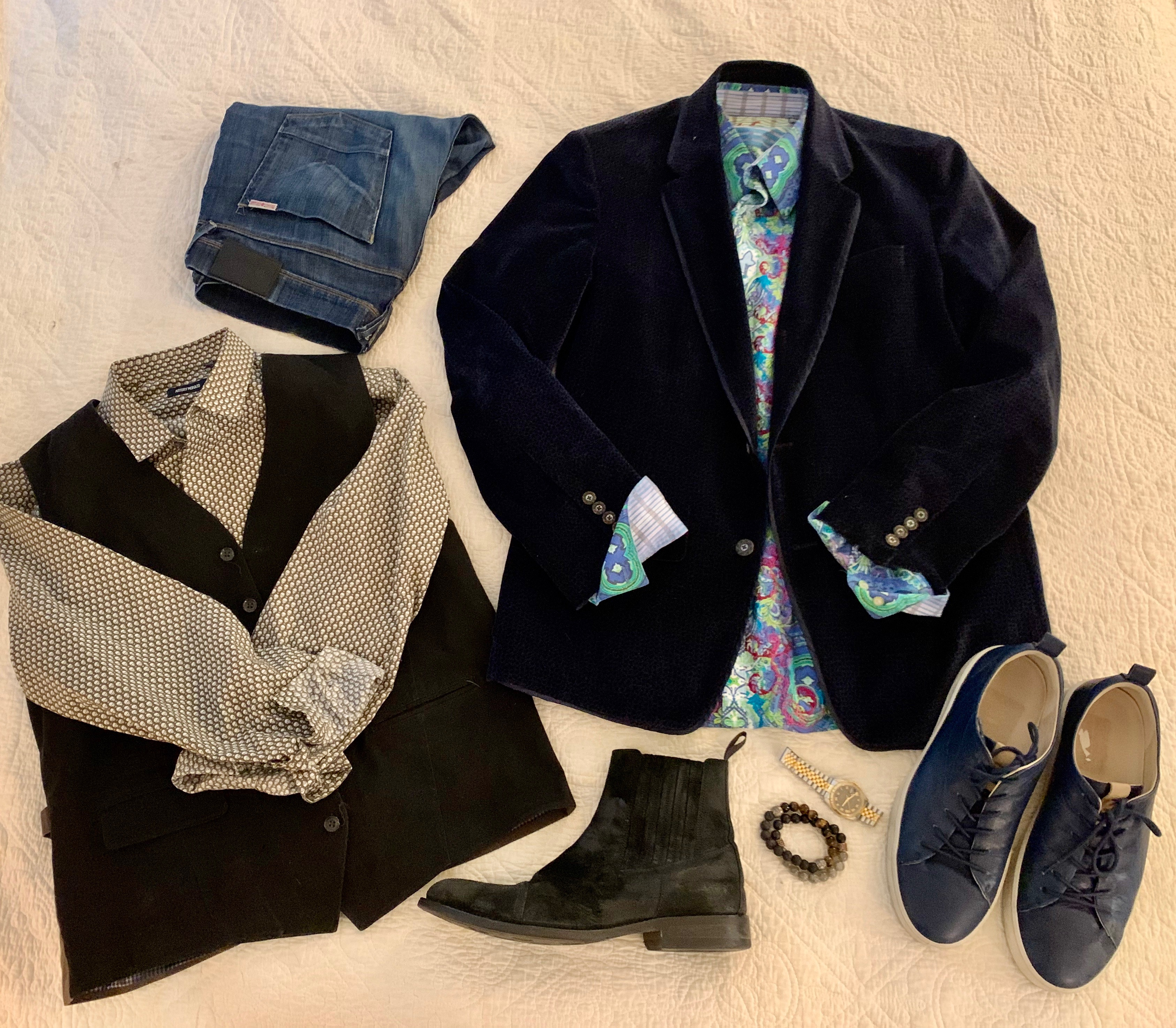 Travel Capsule Wardrobe for the GUYS