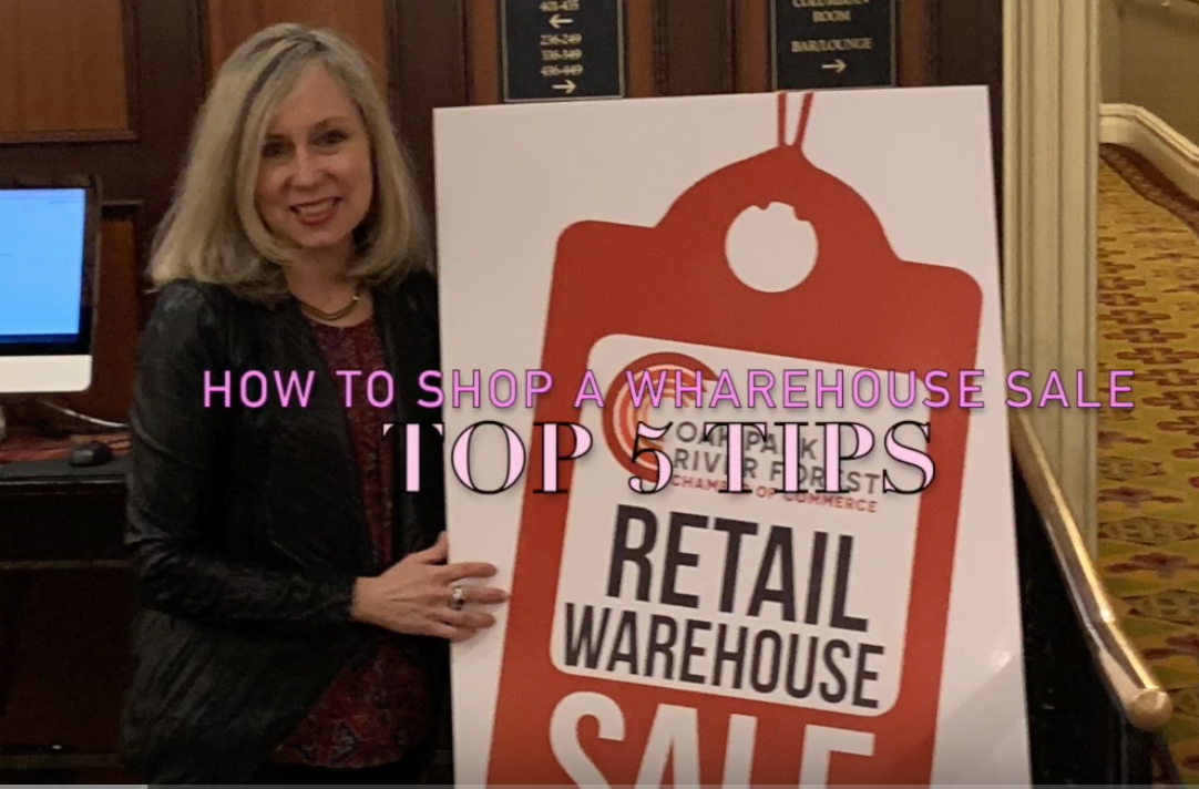 How to be a winner at a warehouse sale