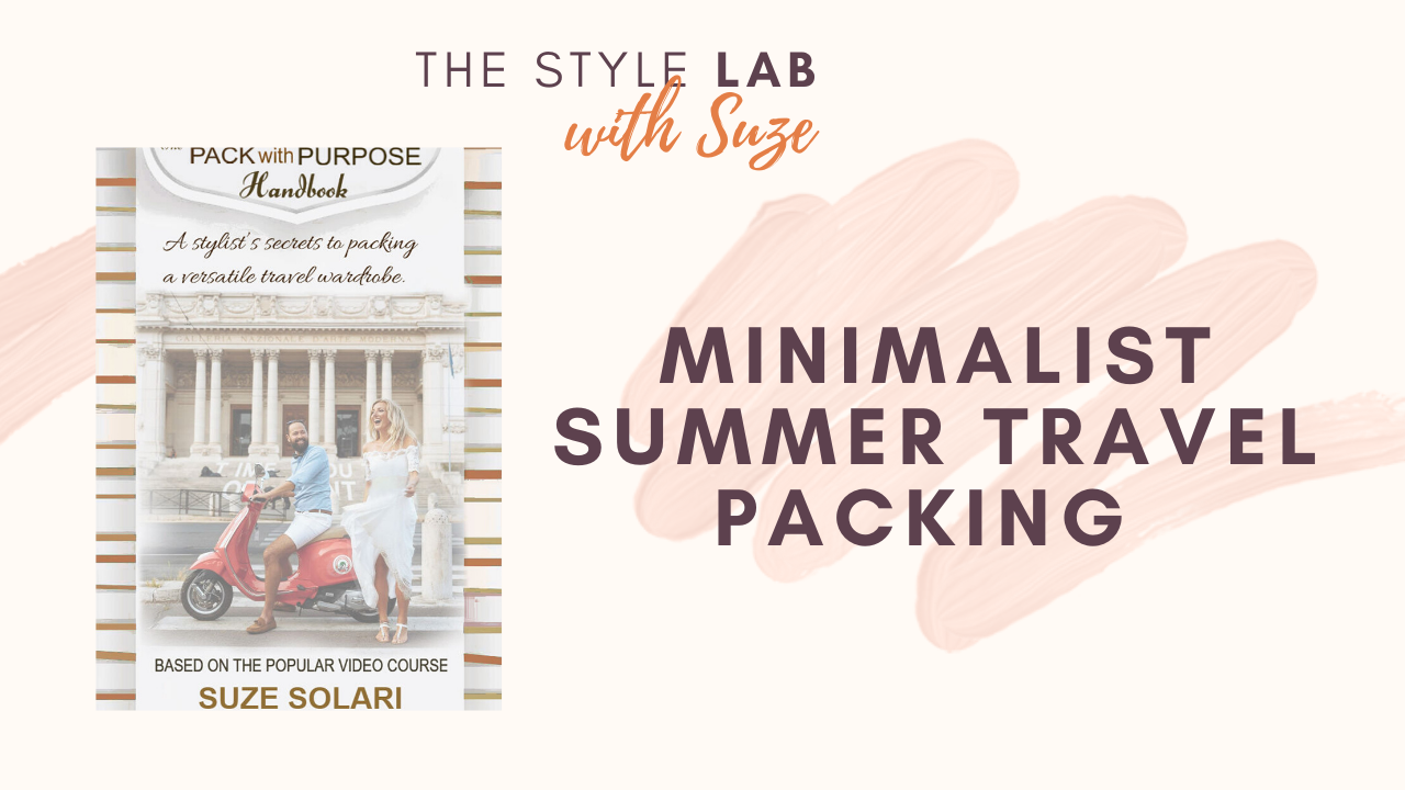 Summer Travel Packing LIST to feel Safe + Stylish